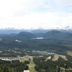 Mt Washington & Forbidden plateau view